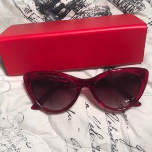 Authentic never used Balenciaga cat eye sunglasses